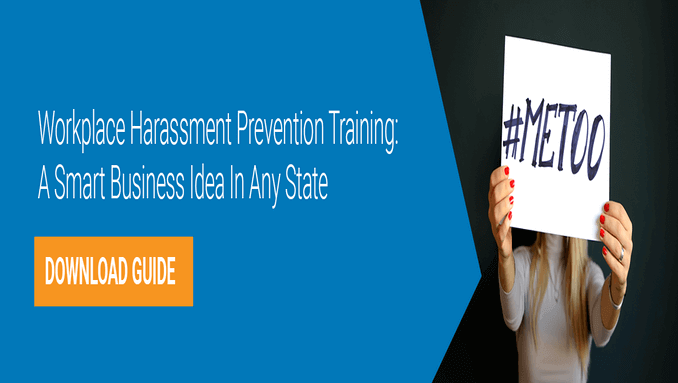 Harassment prevention training whitepaper